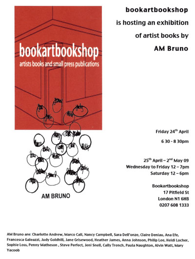 AMBruno at Bookartbookshop