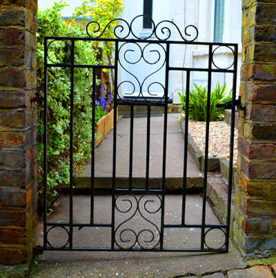 Twenty-five Wrought Iron Front Gates by Cally Trench