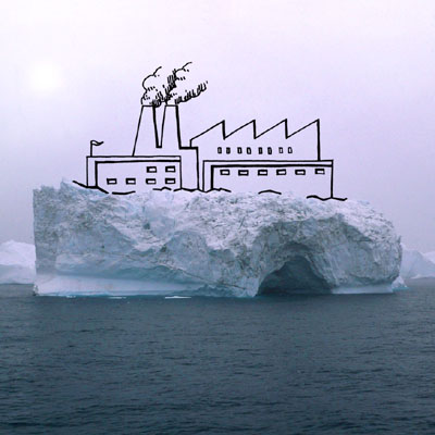 Things you can do with icebergs by Francesca Galeazzi