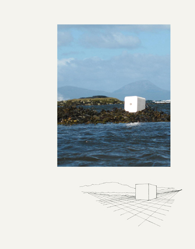 White Cube at Sea by Karen Blake