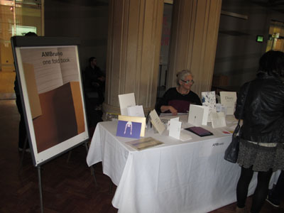 One-fold books at Leeds 2012