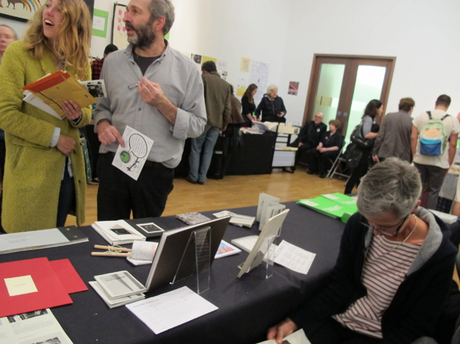 AMBruno: Lists etc. at the London Art Book Fair, Whitechapel Art Gallery