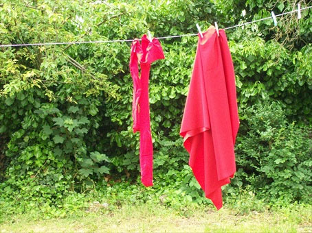 Super Hero Washing Line by Lydia Julien