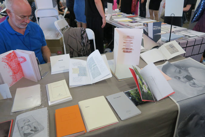 AMBruno at The New York Art Book Fair 2016