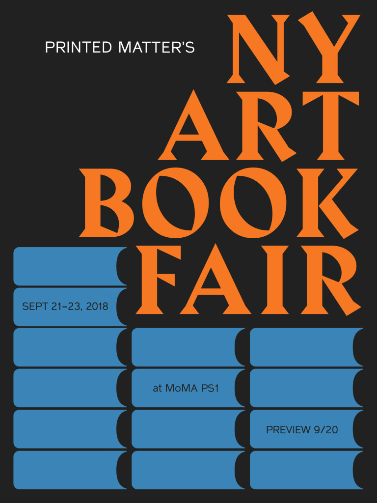AMBruno at The New York Art Book Fair 2018
