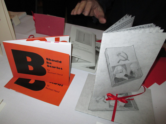 AMBruno: Red at the 17th International Artists' Book Fair, Leeds