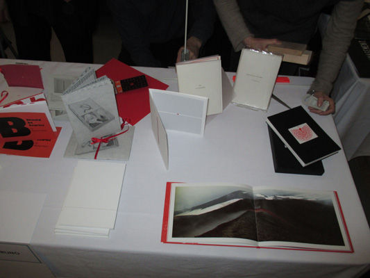 AMBruno: Red at the 18th International Artists' Book Fair, Leeds