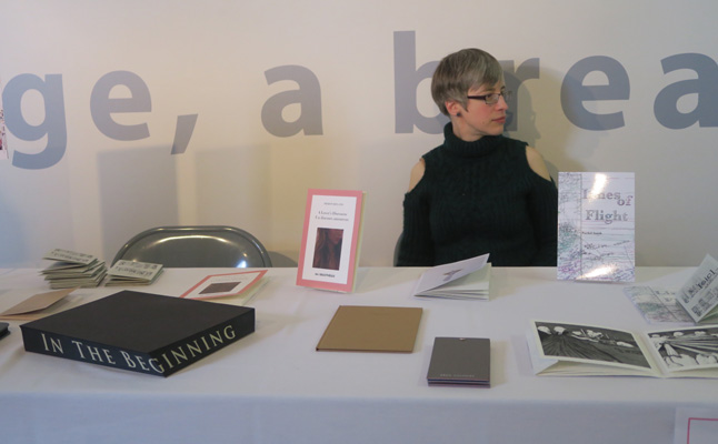 AMBruno: [sic] at PAGES Leeds / International Contemporary Artists' Book Fair, 2017