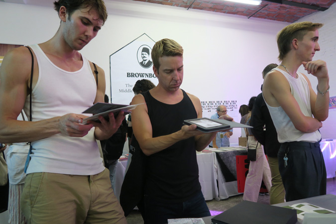 AMBruno: [sic] at The New York Art Book Fair, 2017