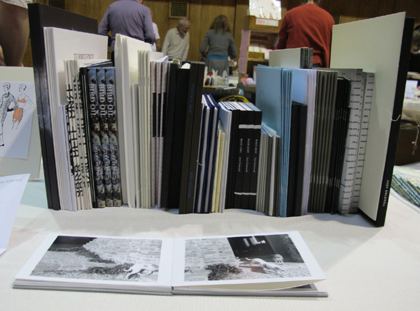 AMBruno at Small Publishers Fair 2014