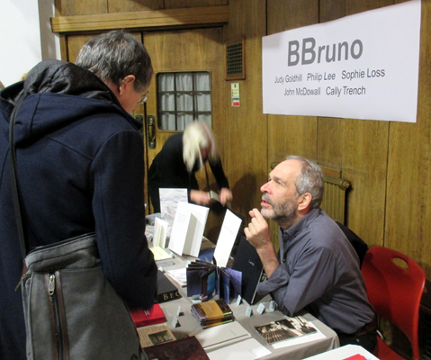 BBruno at the Small Publishers Fair 2019