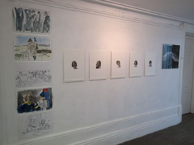 <i>Surfaces: Works on Paper</i>, at the Sput+Nik Gallery