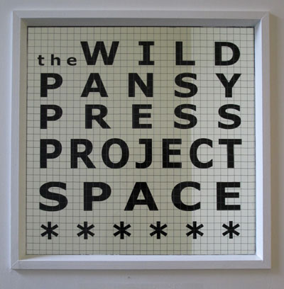 Wild Pansy Press Project Space